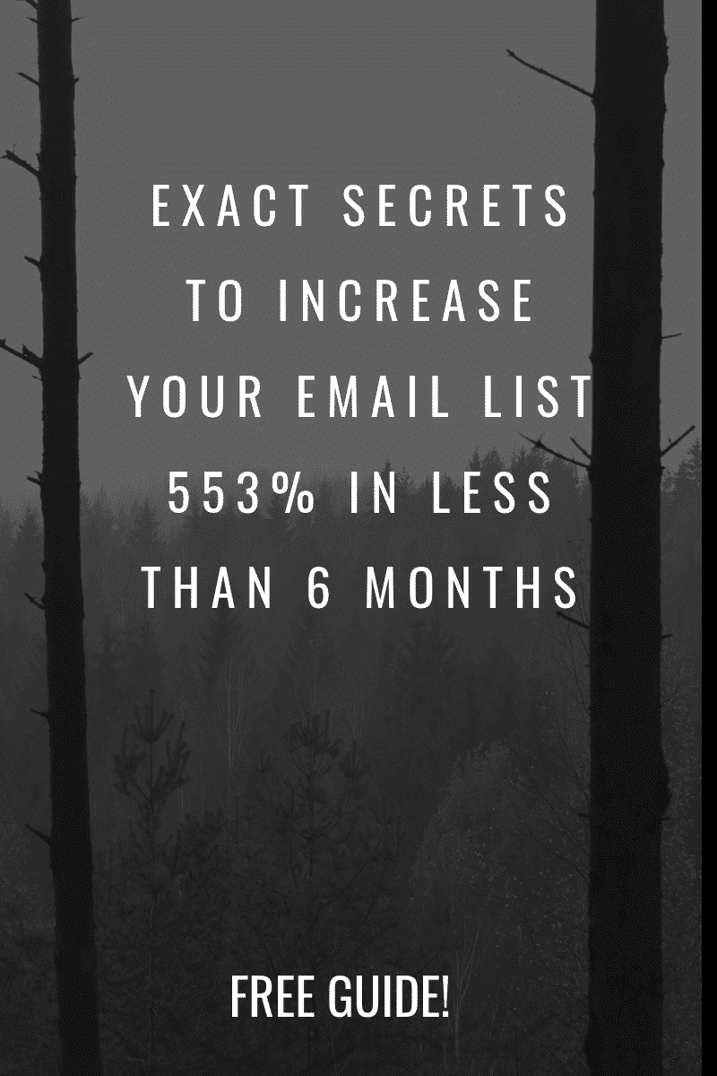 Increase Your Email List Online