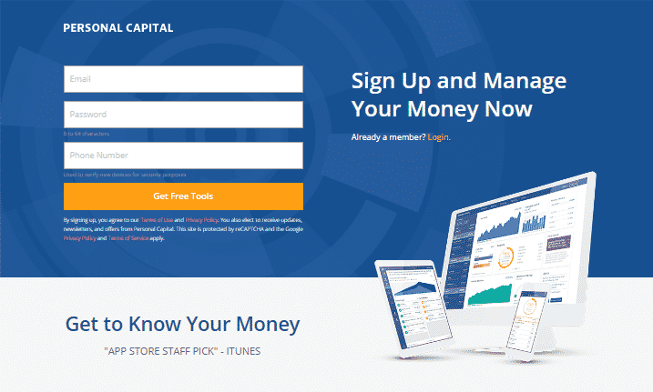 How to Sign Up for Personal Capital