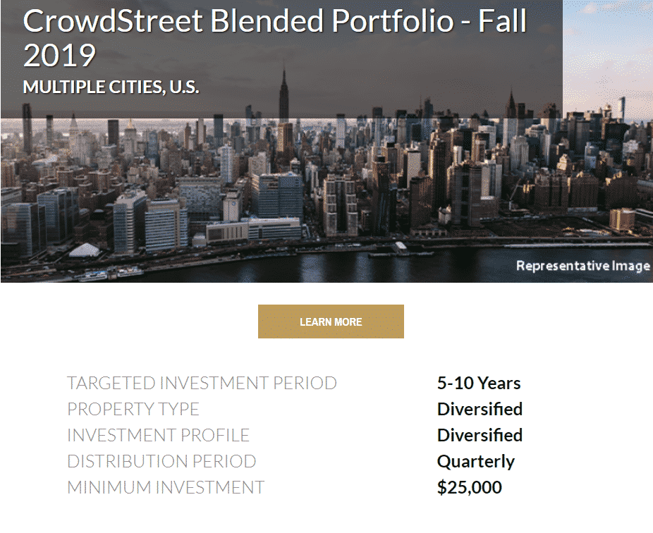 funds and vehicles are the first way of investment in this crowdstreet review