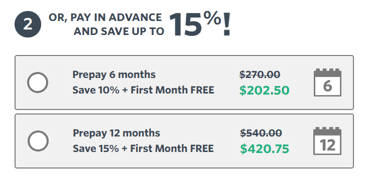 Constant Contact offers prepay pricing