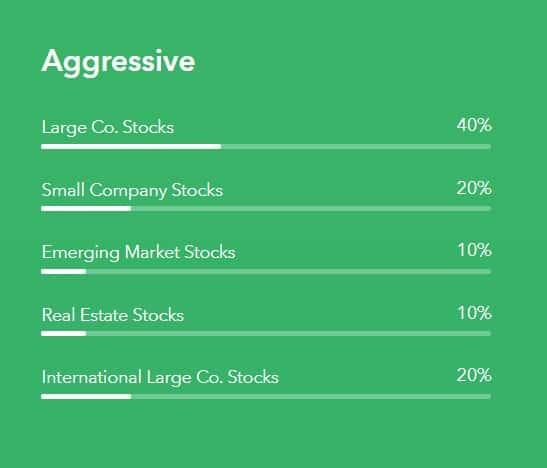 Acorns portfolio aggressive