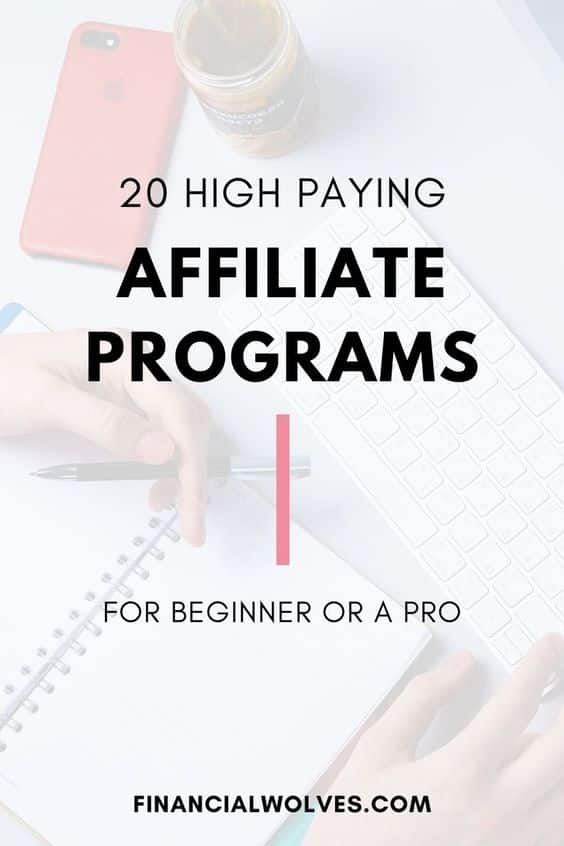 20 High Paying Affiliate Programs