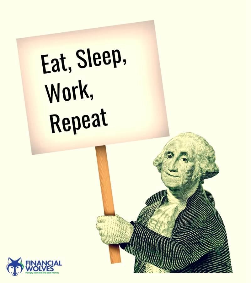 Eat, Sleep, Work, Repeat Meme
