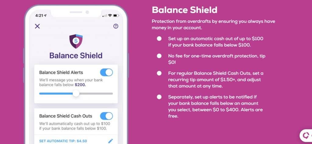 Earnin app balance sheet