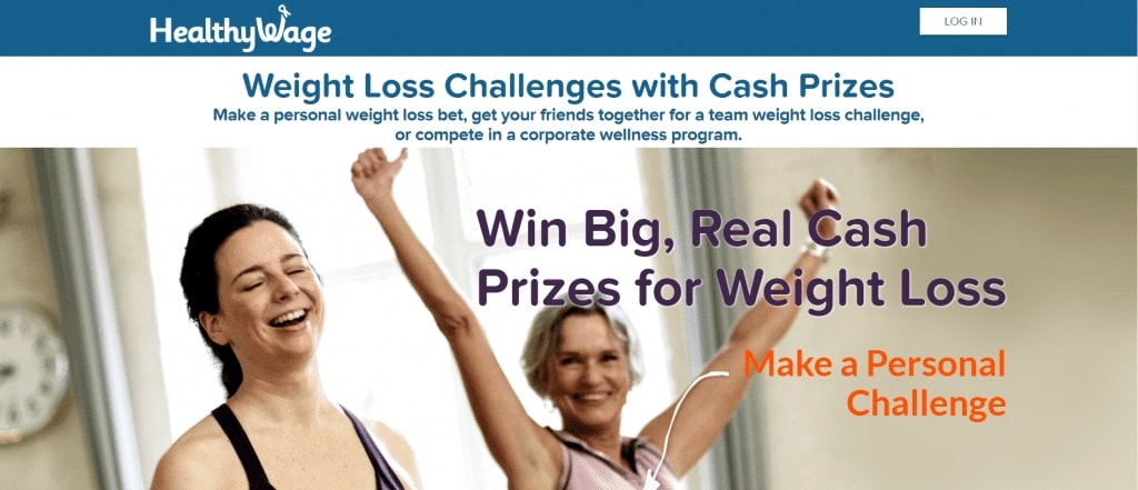 Lose weight with HealthyWage