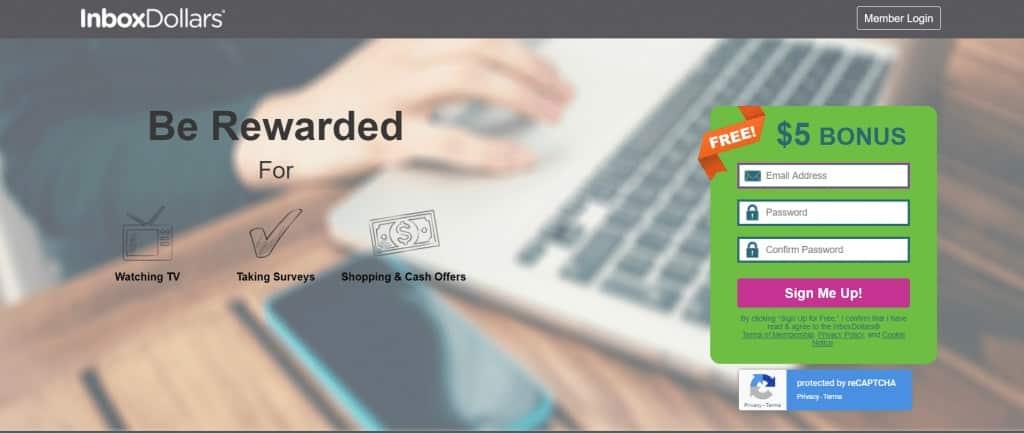 Earn money through online tasks with InboxDollars