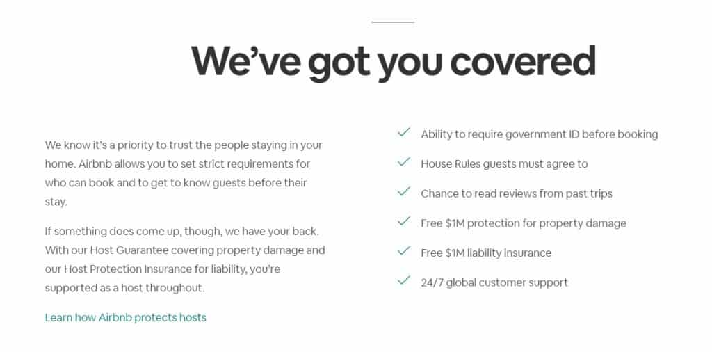 Airbnb coverage