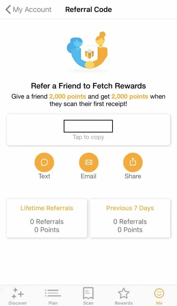 Fetch Rewards referral