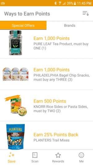 Fetch Rewards offers