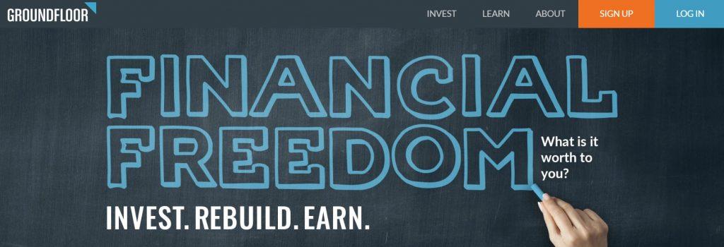 Groundfloor Homepage