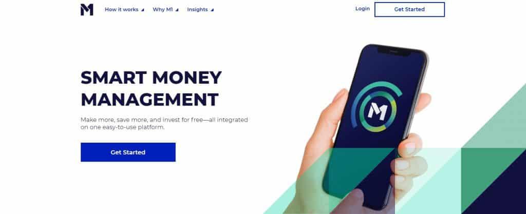 M1 Finance Homepage
