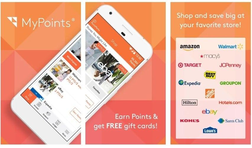 MyPoints app