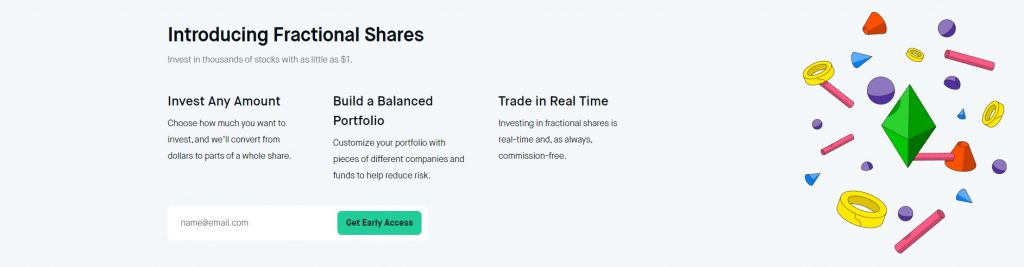 Robinhood fractional shares