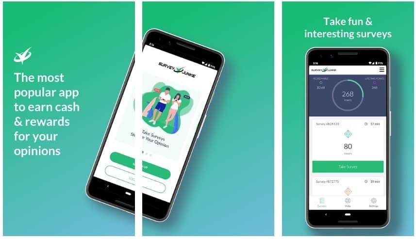 Survey Junkie app