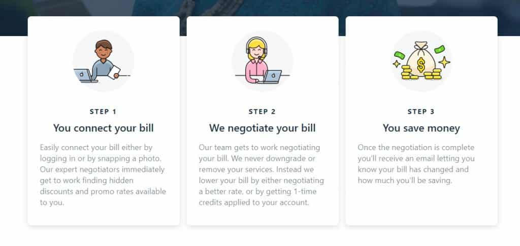 How Truebill lowers bills