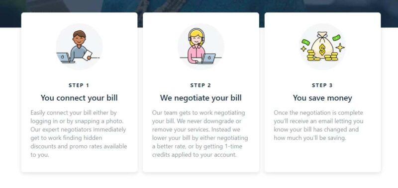How Truebill lowers bills