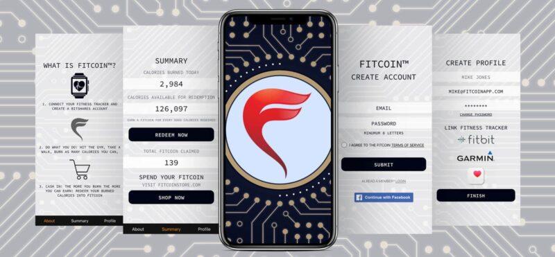 FitCoin app