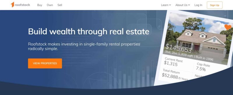 Roofstock real estate investments