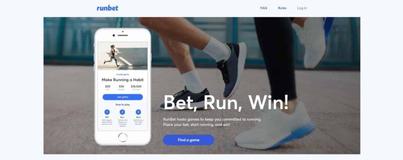 RunBet app