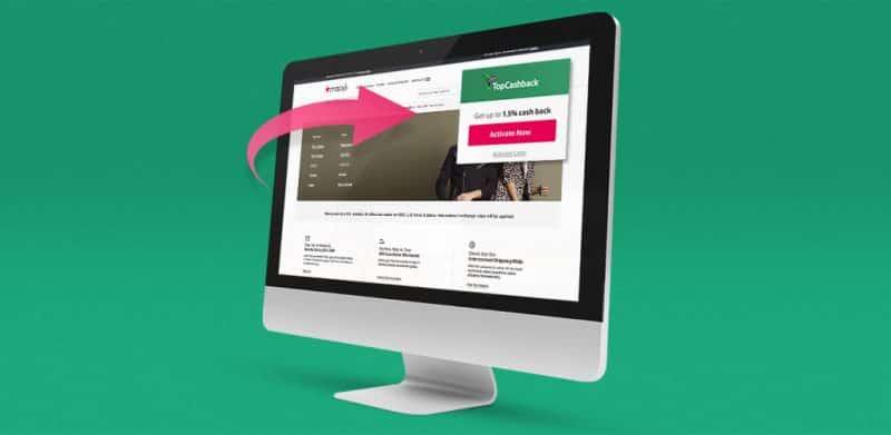 TopCashback online platform