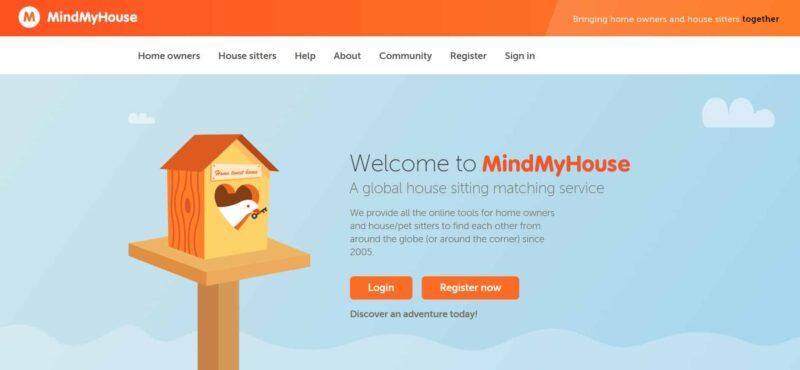 MindMyHouse website