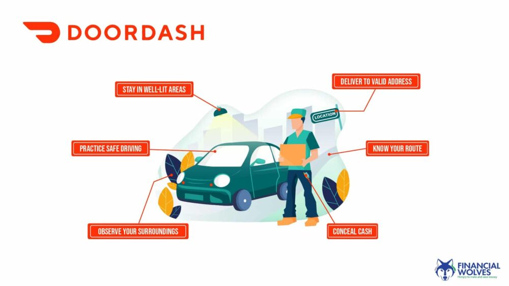Safety Tips for DoorDash Drivers