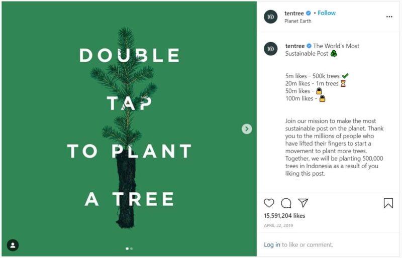 Tentree Instagram Contest