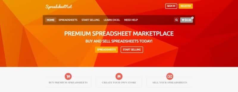 Spreadsheetnut website