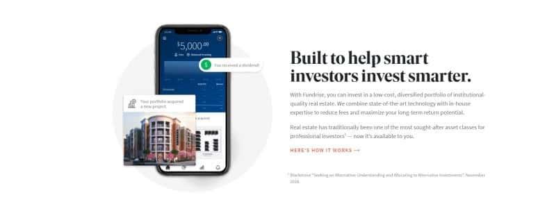 Fundrise website