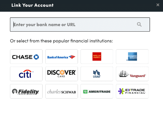 Link Your Account Personal Capital