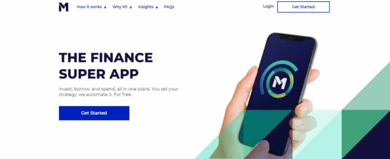 M1 Finance website