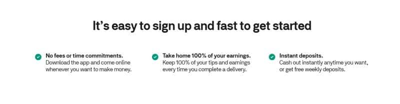 Postmates Sign Up