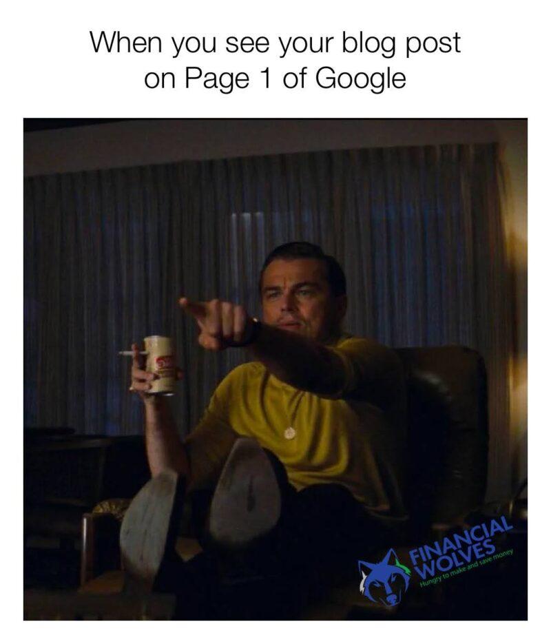 SEO Meme - Leonardo DiCaprio