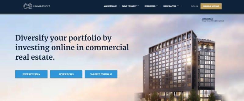 Crowdstreet website