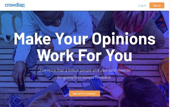 Crowdtap Website