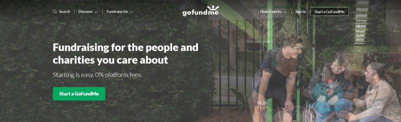 GoFundMe website