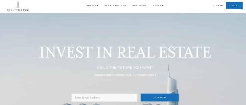 RealtyMogul website