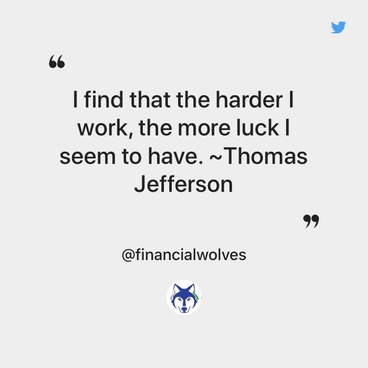 Thomas Jefferson Quote About Luck