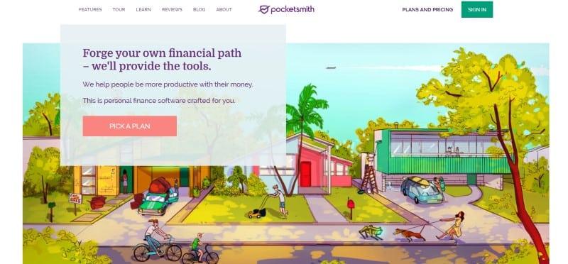 Pocketsmith website