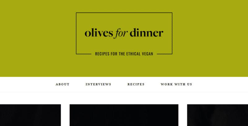 Olives for Dinner