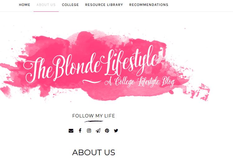 Theblondelifestyle