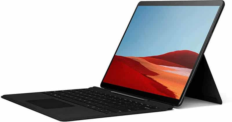 Best Laptop for Creating Graphics Microsoft Surface Pro X