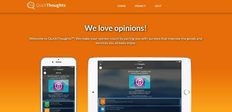 Quickthoughts Homepage