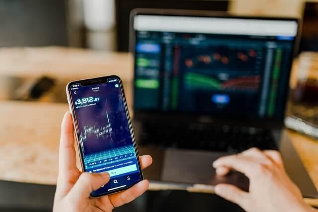 phone with investment portfolio