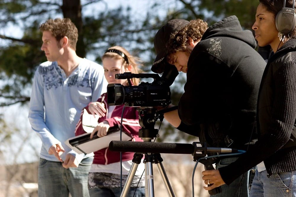 Get paid to watch movies by becoming a director.