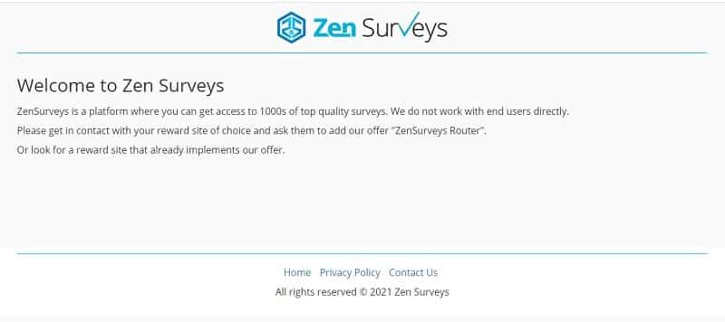zensurveys intro
