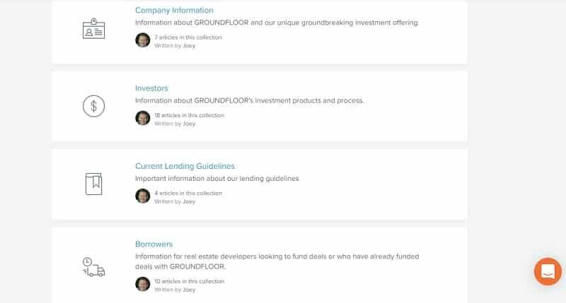 Groundfloor FAQ