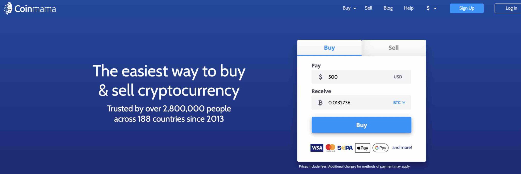 Coinmama - To Buy Sell Bitcoins