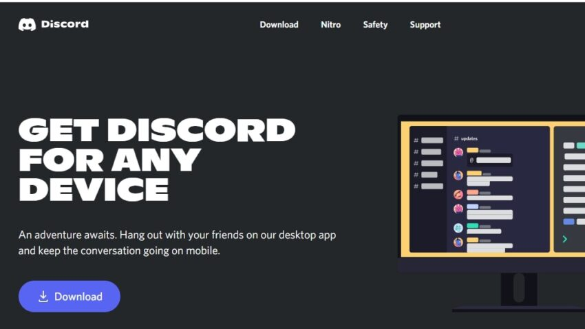 Joining Discord