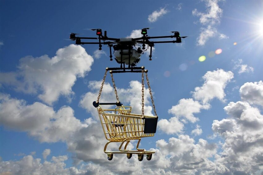 package delivery drone